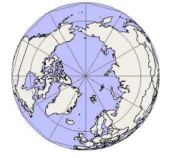 Near-Sided Perspective Projection